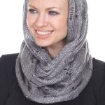 Infinity Scarves - Sequined Knit 7006*