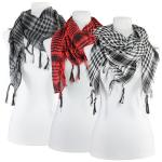 Scarves - Plaid Houndstooth 4432