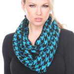 Infinity Scarves - Houndstooth 7365