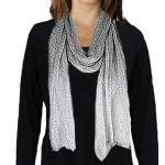 Scarves - Metallic Mesh 214