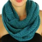 Infinity Scarves - Knitted with Sequins 4380