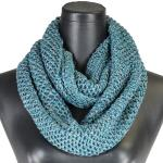 Infinity Scarves - Knitted with Lurex 4384