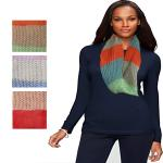 Infinity Scarves - Knitted Multi Stripe- 4059