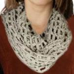 Infinity Scarves - Fishnet 4464