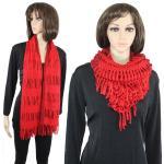 Scarves - Two Way Knit Tube