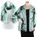 Big Scarves/Shawls - Earthy Tie Dye Design 3306