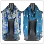 Scarves - Long Plaid Reversible 1111