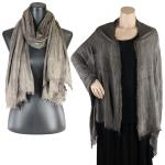 Big Scarves/Shawls - Earthy Look 1103