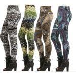 Fashion Leggings - Fleece