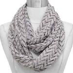 Infinity Scarves - Chevron Lace 8074