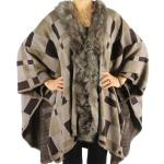 Capes - Plaid with Fur 1013 *