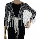 Shawls - Sequined Triangle