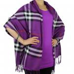 Big Scarves/Shawls - Cotton Tartan Plaid 517