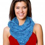 Infinity Scarves Wide - Stars 3059