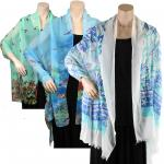 Cotton Feel Shawls for Spring and Summer