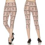 Brushed Fiber Leggings - Capri Length Prints