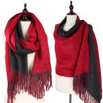 Oblong Scarves - Double Sided Brushed Unisex 8850