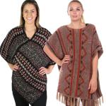 Fall/Winter Ponchos - Mohair Feel
