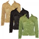 Gourmet Popcorn - Cardigans with Collar