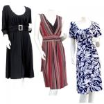 Spandex Knit Dresses -(FINAL CLEARANCE)