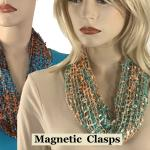 Confetti Scarf with Magnetic Clasp