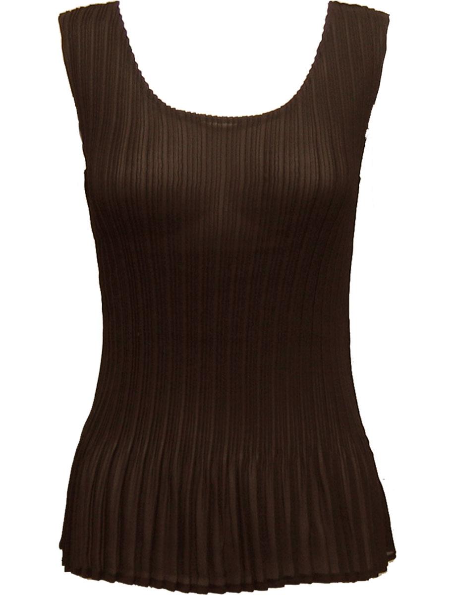 Georgette Mini Pleats - Sleeveless