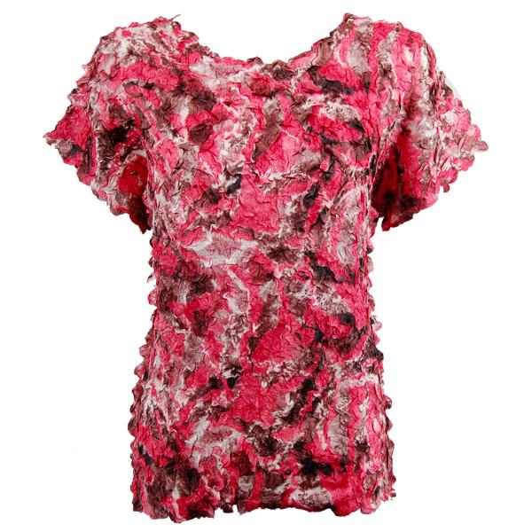 Petal Shirts - Cap Sleeve - Batik Pink Blush