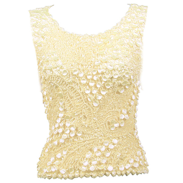 Pinpoint Coin - Sleeveless - Ivory