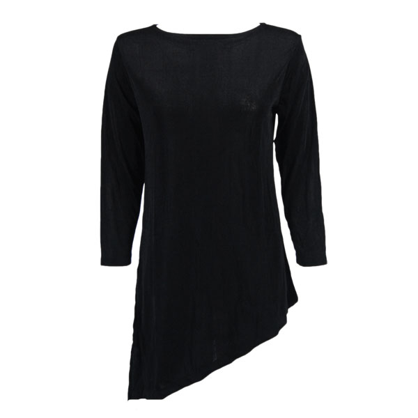 Slinky Travel Tops - Asymmetric Tunic*