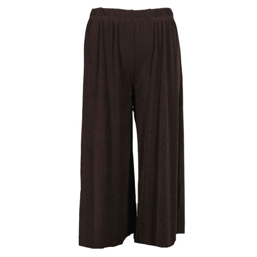 Wholesale Pinpoint Popcorn - Three Quarter Sleeve Dark Brown - One Size (S-L)