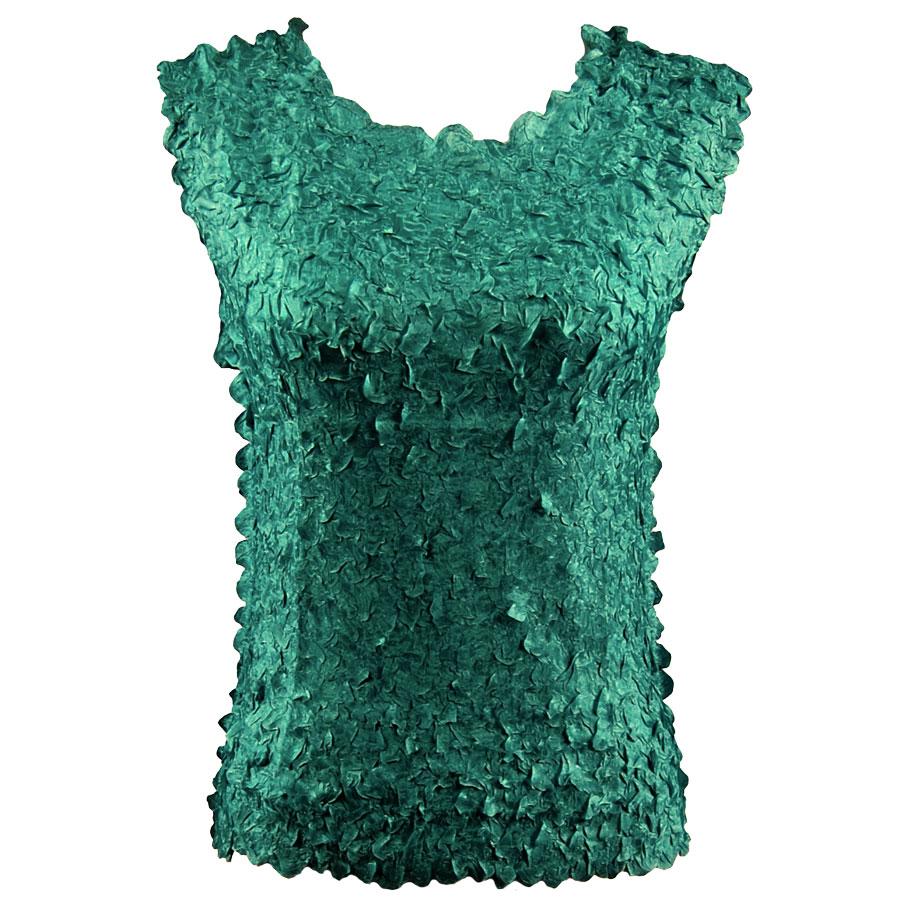 Petal Shirts - Sleeveless - Solid Emerald