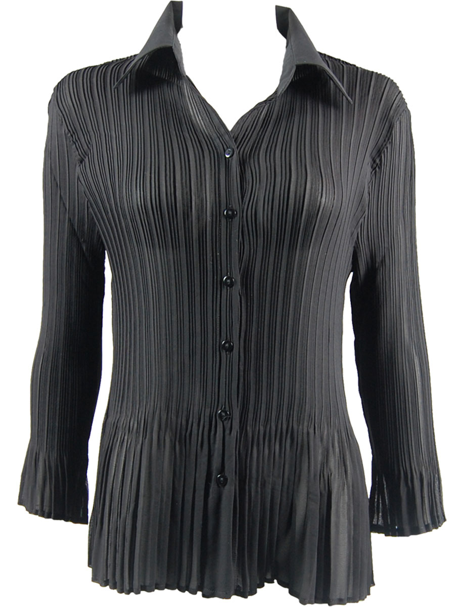 Georgette Mini Pleats - Blouse