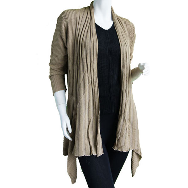Magic Convertible Long Ribbed Sweater