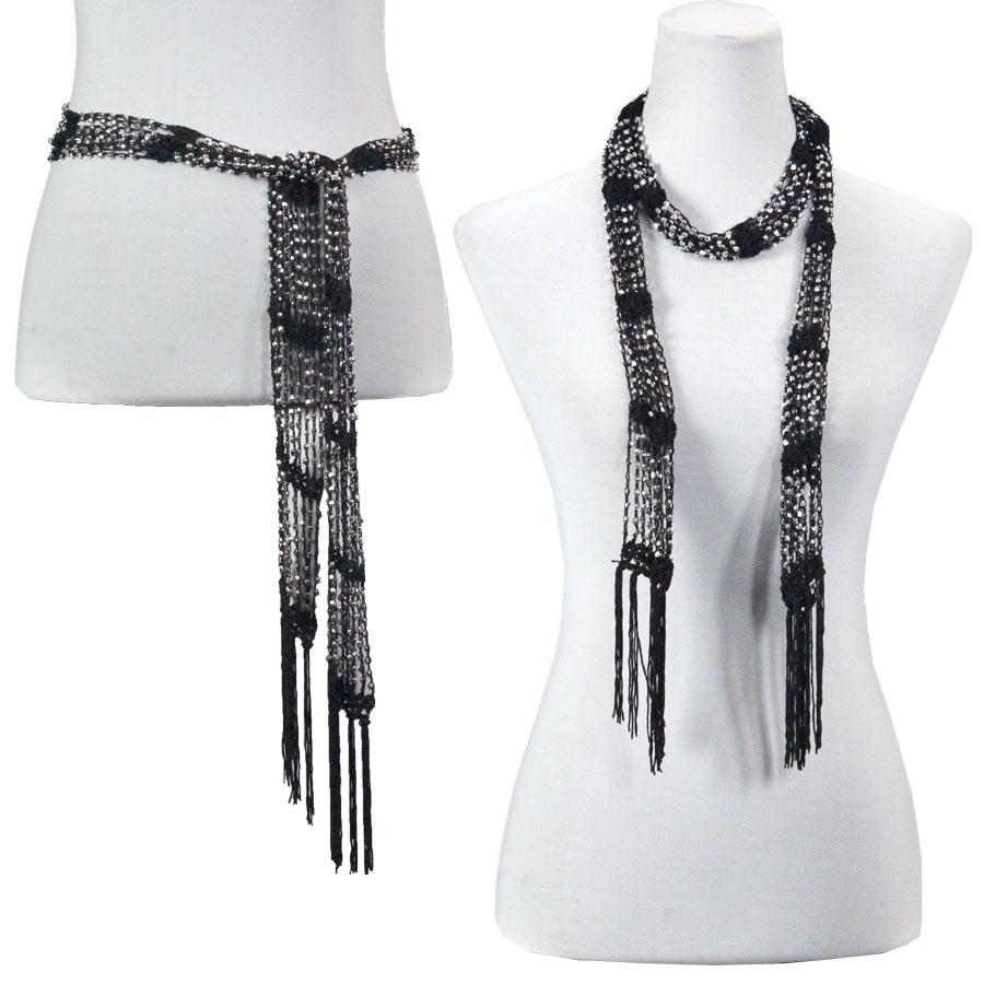 Shanghai Beaded Scarves/Sash