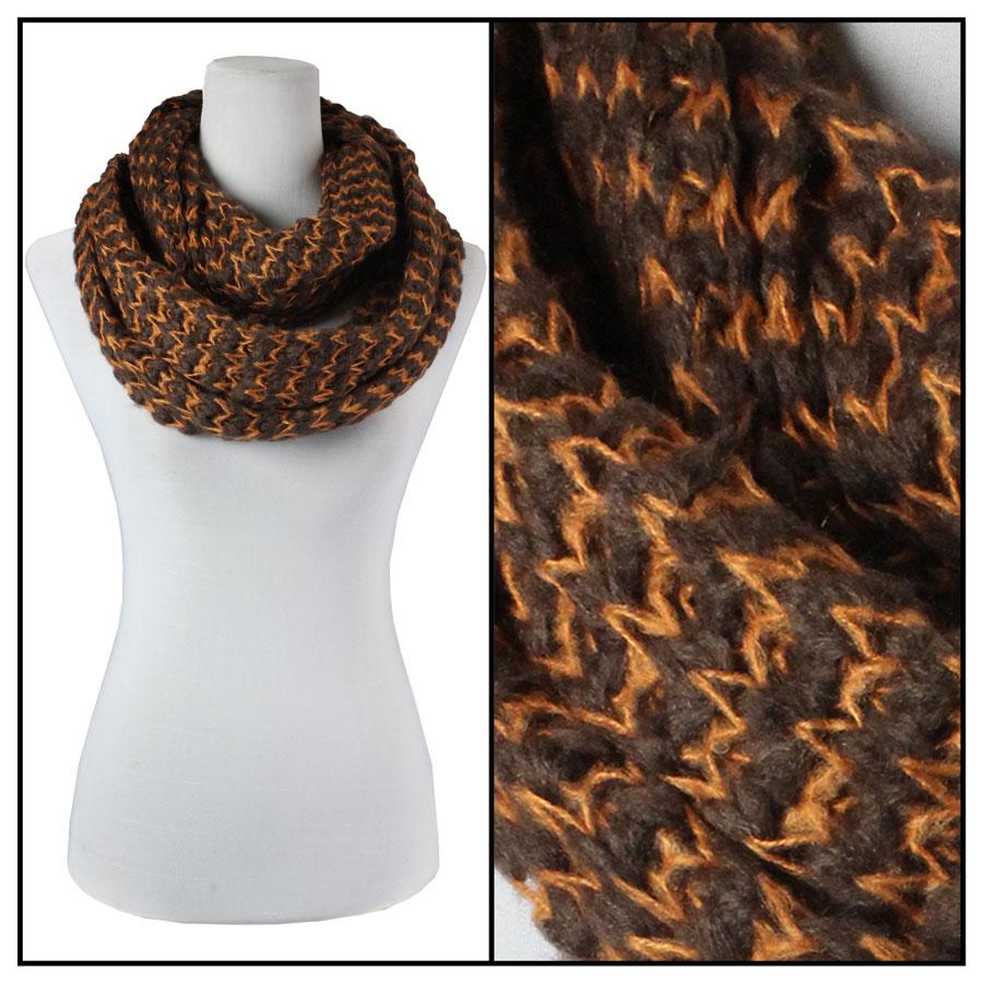 Infinity Scarves - Jagged Stripe 4326*
