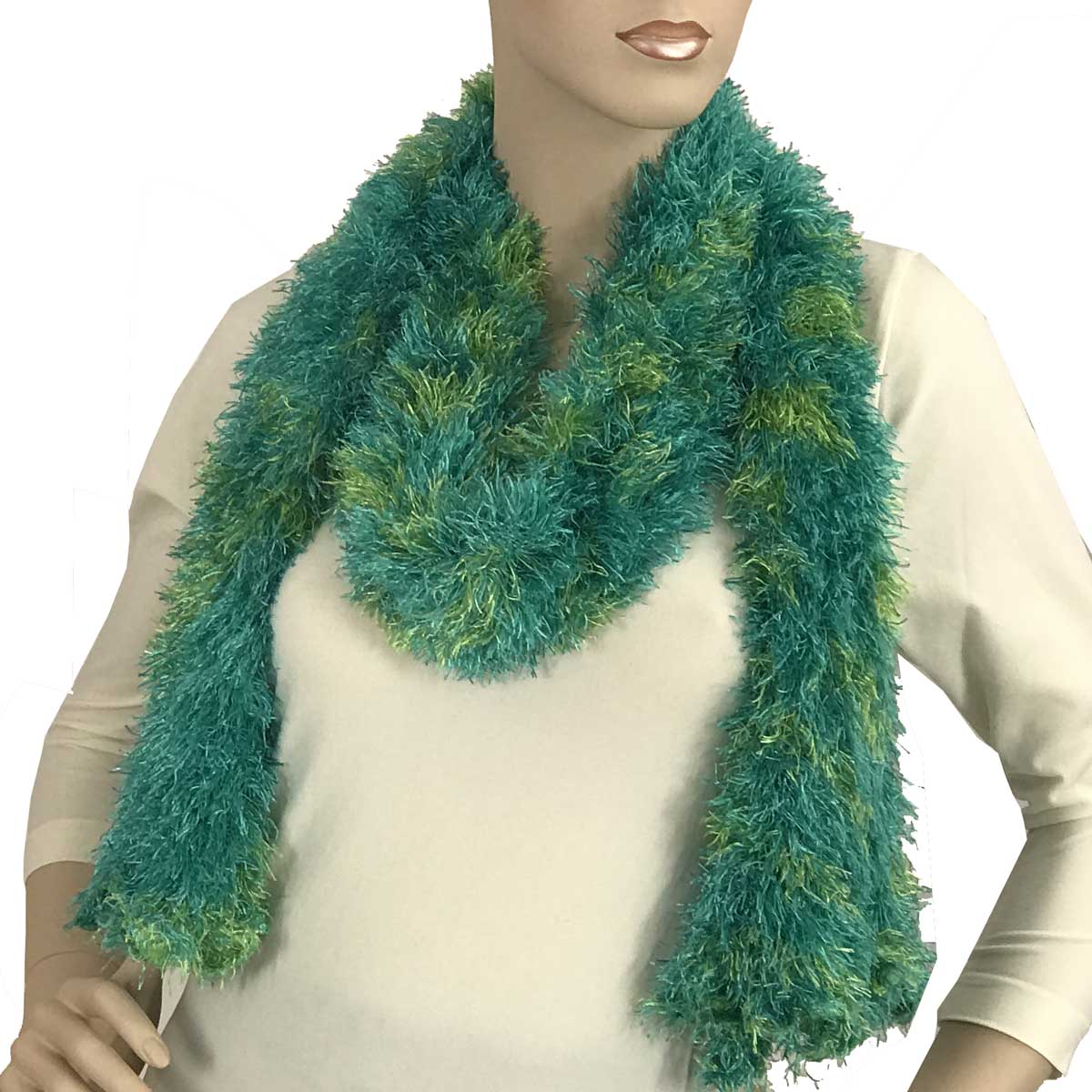 Wholesale Boutique Edition Magic Scarves Bright Green-Lime Splash Boutique Edition -