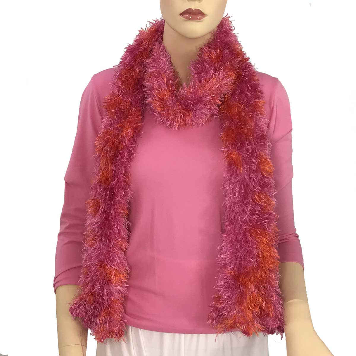 Wholesale Boutique Edition Magic Scarves Hot Pink-Orange Splash Boutique Edition -