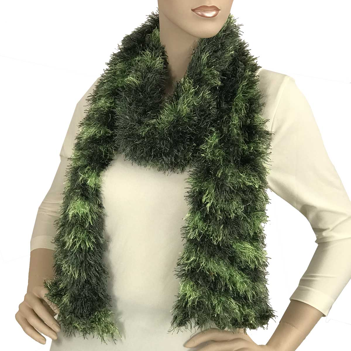 Wholesale Boutique Edition Magic Scarves Olive-Lime Splash Boutique Edition -