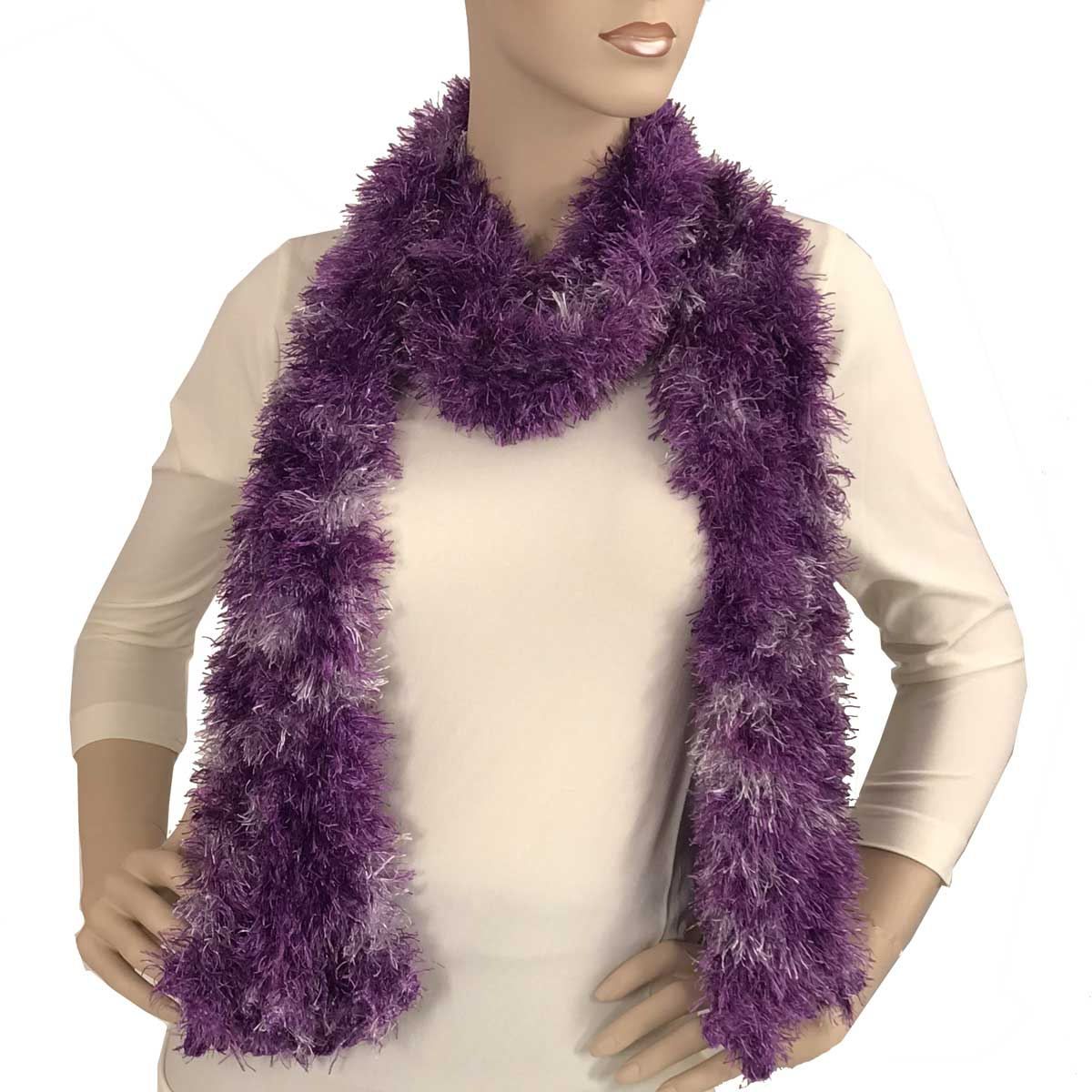 Wholesale Boutique Edition Magic Scarves Purple-Dusty Purple Splash Boutique Edition Magic Scarf -