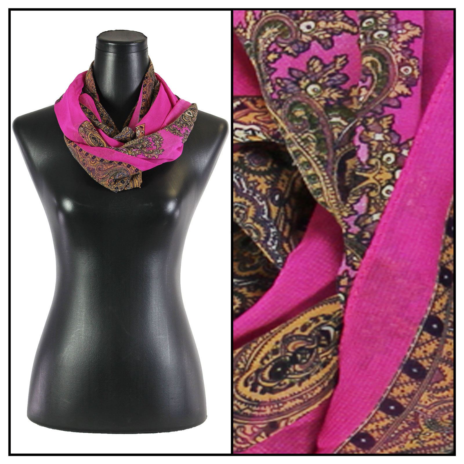Infinity Silky Dress Scarves