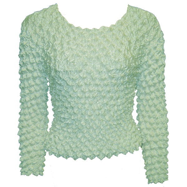 Wholesale Gourmet Popcorn - Long Sleeve Light Aqua - One Size (S-XL)