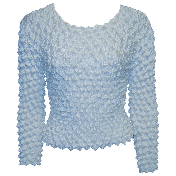 Wholesale Gourmet Popcorn - Long Sleeve Baby Blue - One Size (S-XL)