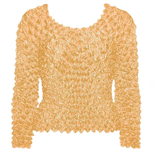 Wholesale Gourmet Popcorn - Long Sleeve Peach - One Size (S-XL)