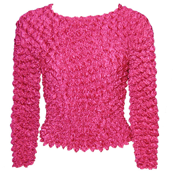 Wholesale Gourmet Popcorn - Long Sleeve Magenta - One Size (XS-L)
