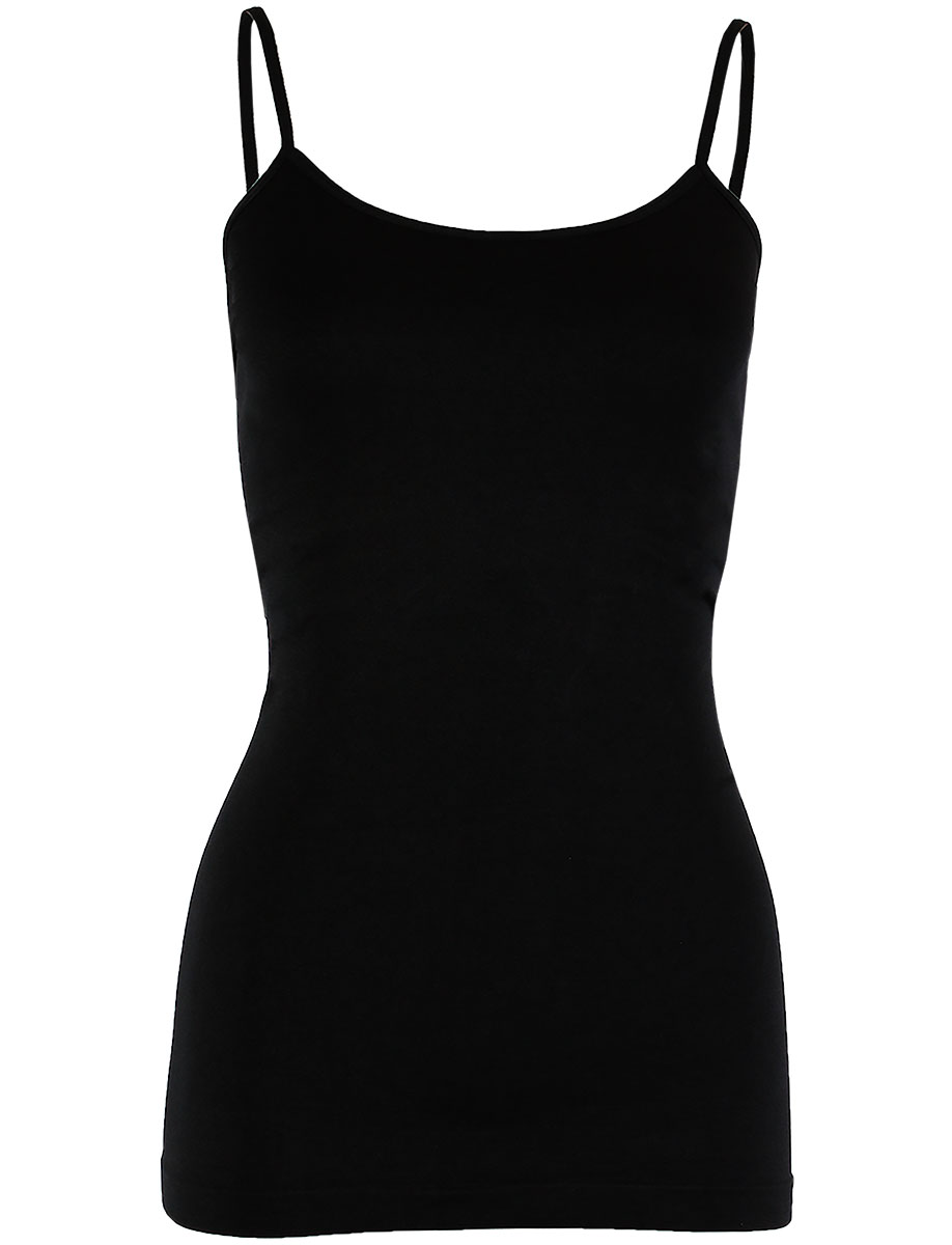 Magic SmoothWear Spaghetti Tank - Black