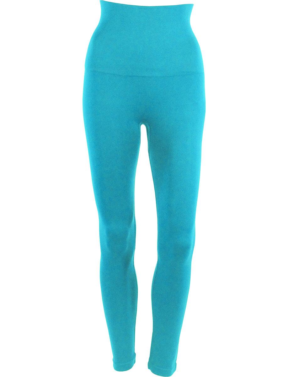 Turquoise Magic Tummy Control SmoothWear Leggings