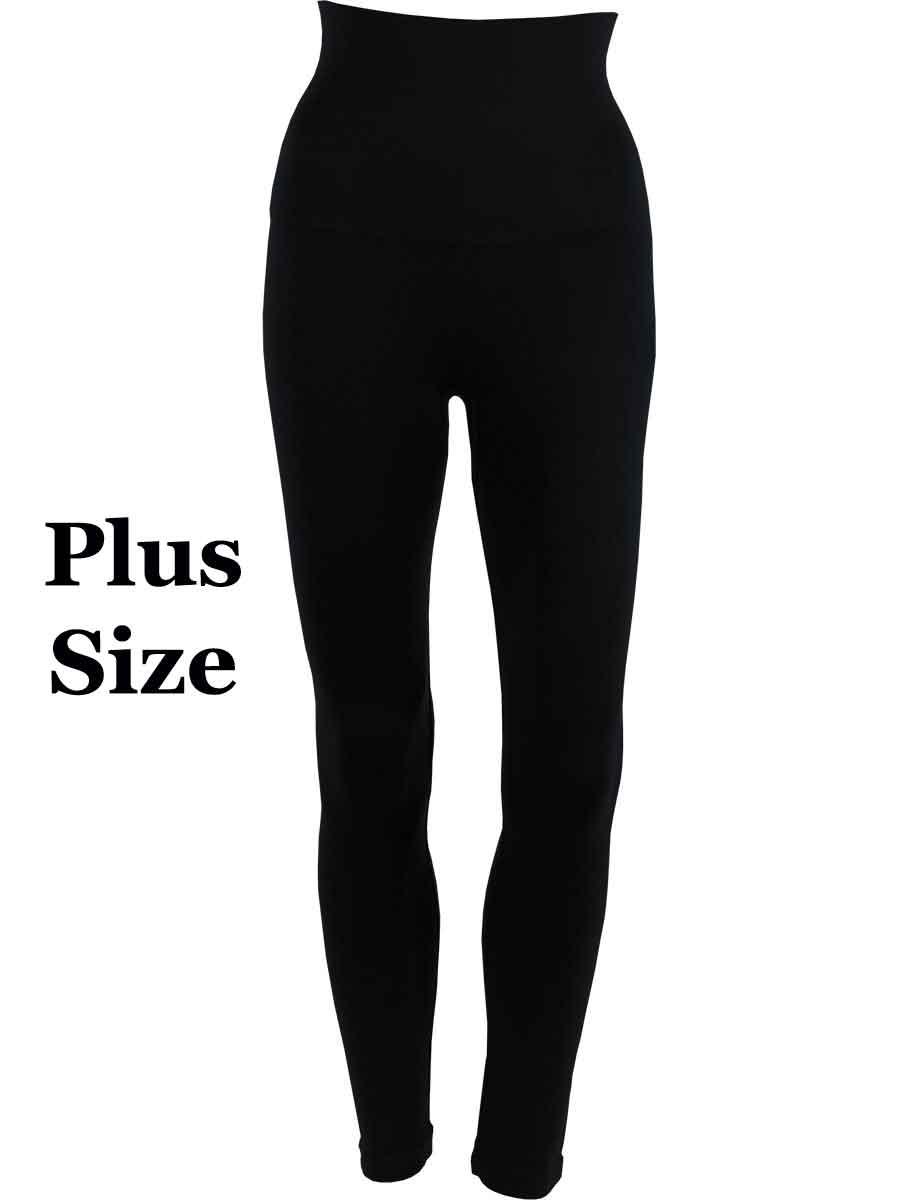 Black Plus Magic Tummy Control SmoothWear Leggings