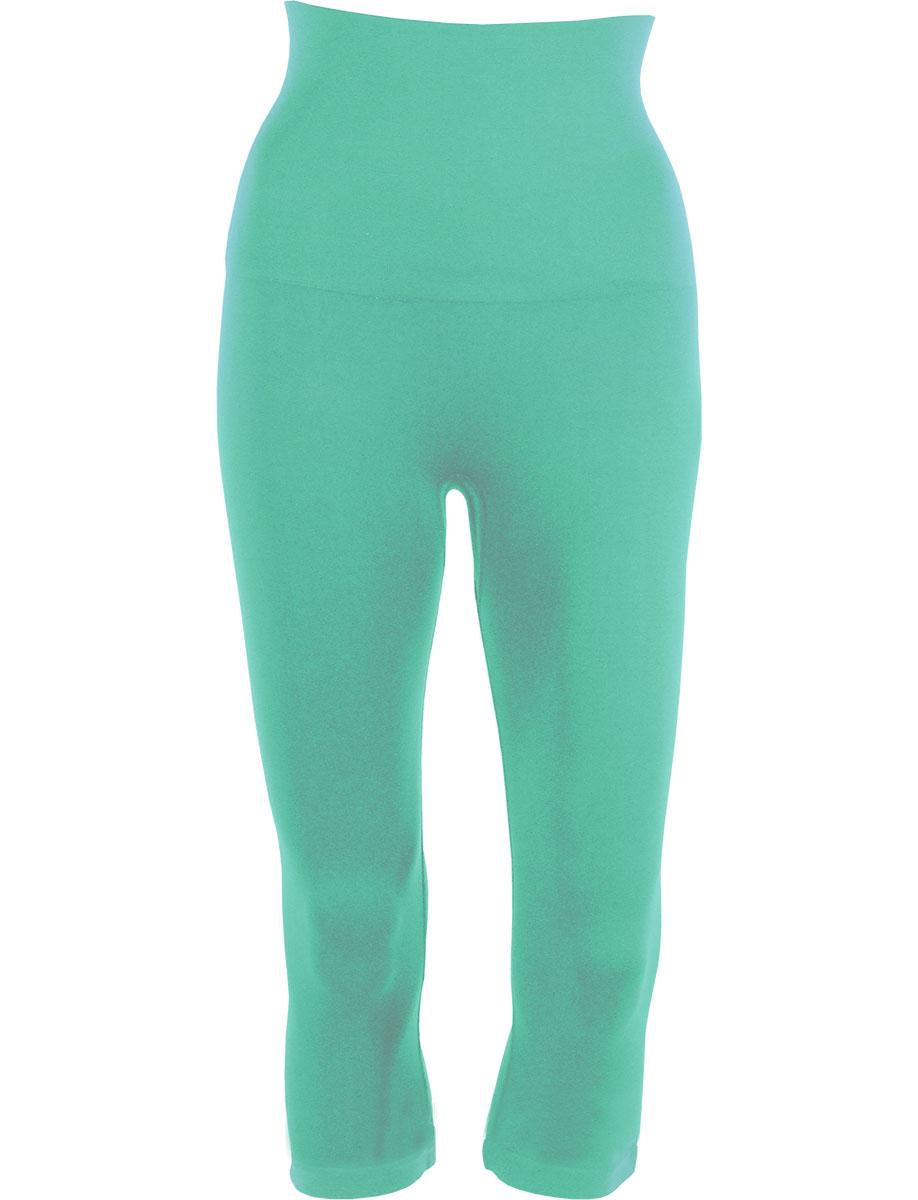 Mint Tummy Control SmoothWear Capri Leggings