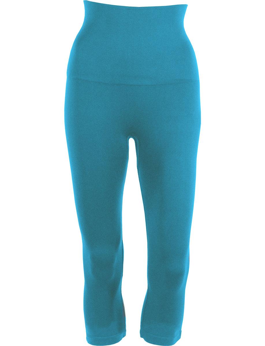 Aqua Tummy Control SmoothWear Capri Leggings