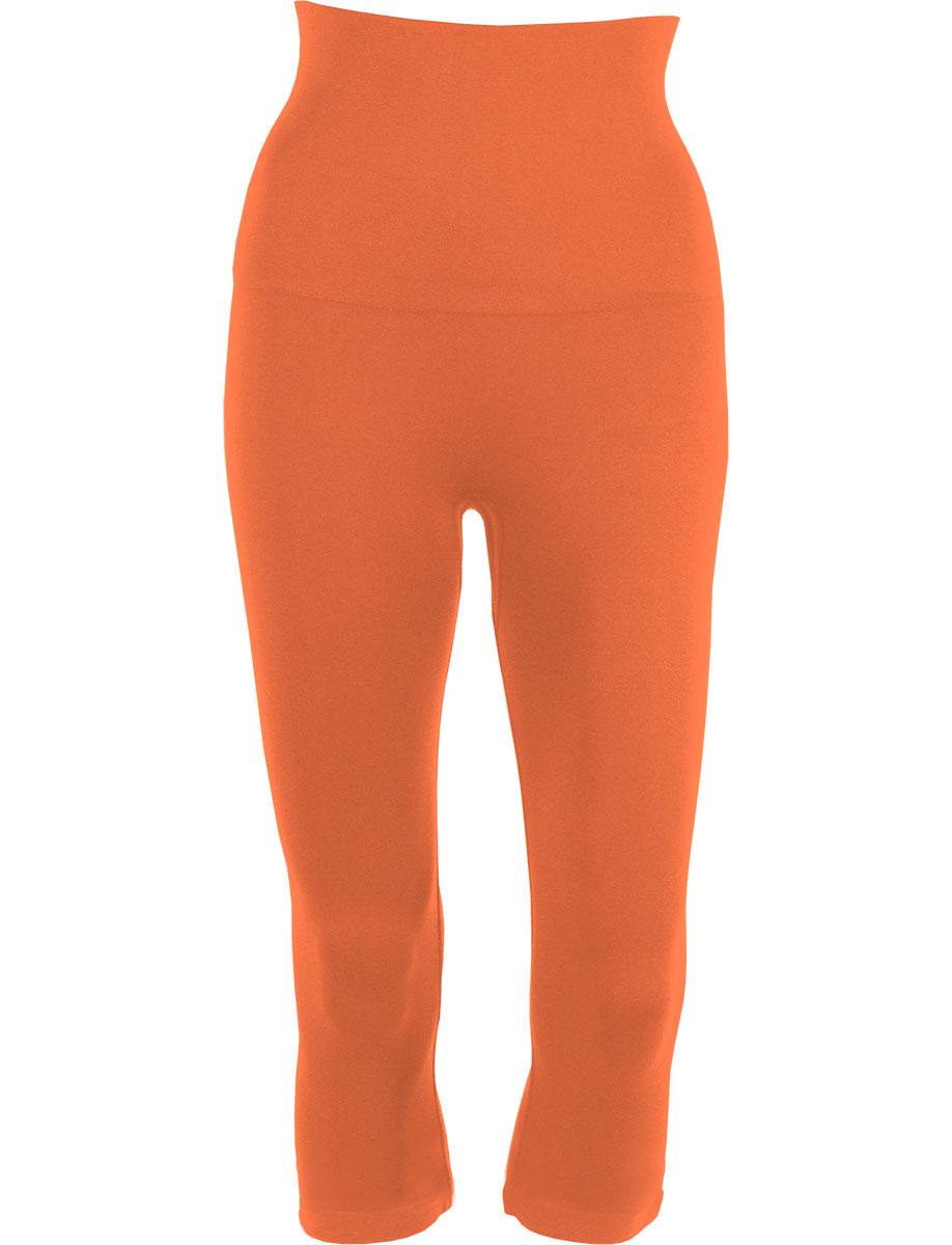 Melon Tummy Control SmoothWear Capri Leggings